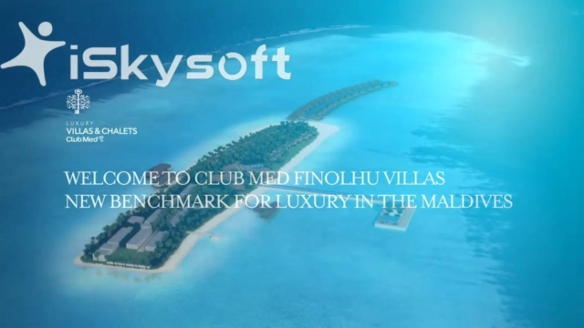 Fly through 3d digital animation of Club Med Finolhu produced with Digital Frontier