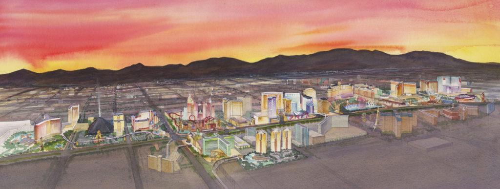Las Vegas rendering