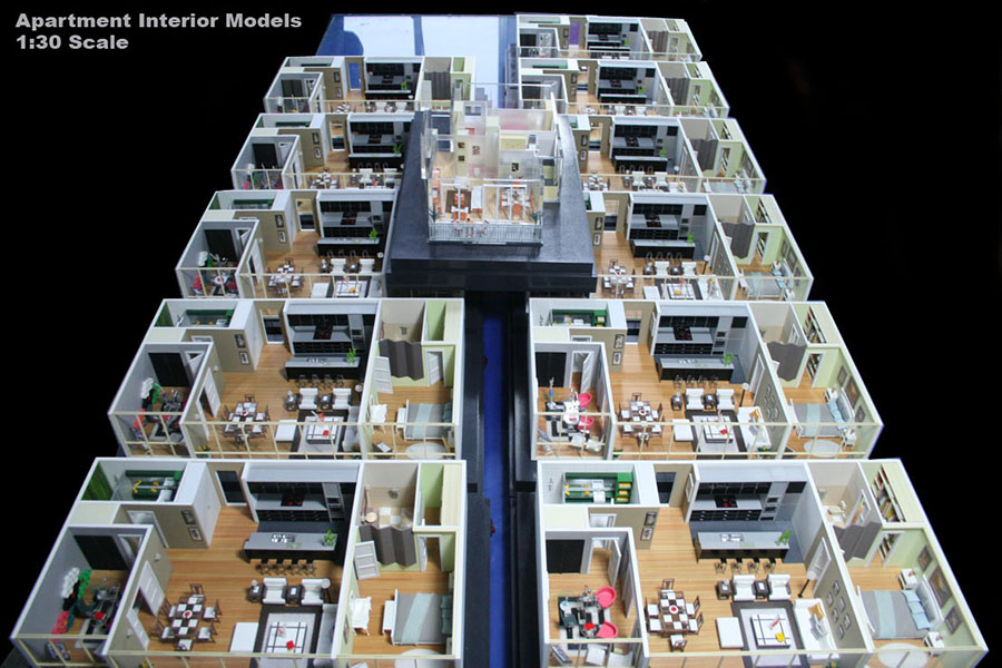 architectural physical model