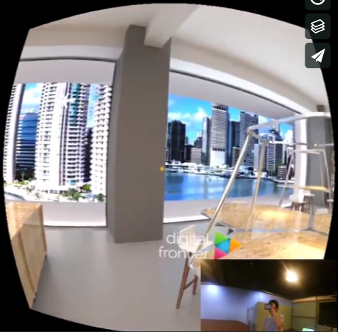Mobile Virtual Reality demo