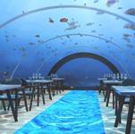 underwater restaurant digital rendering