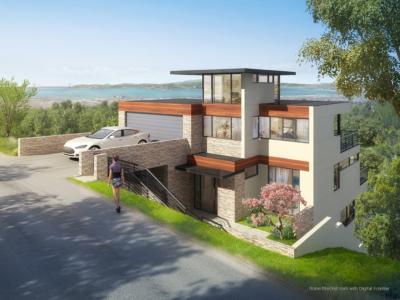 6525 Snake digital residential rendering
