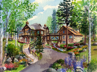 ResortDesignAssociates_Vail_Architectural_Rendering_Watercolor