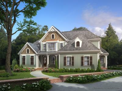 Hanley Wood Autumn residence digital rendering