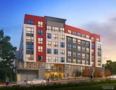 UNR student housing rendering